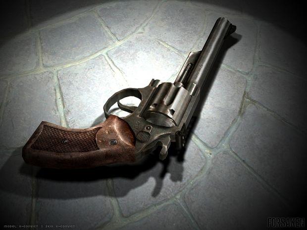 .44 Magnum weapon model.