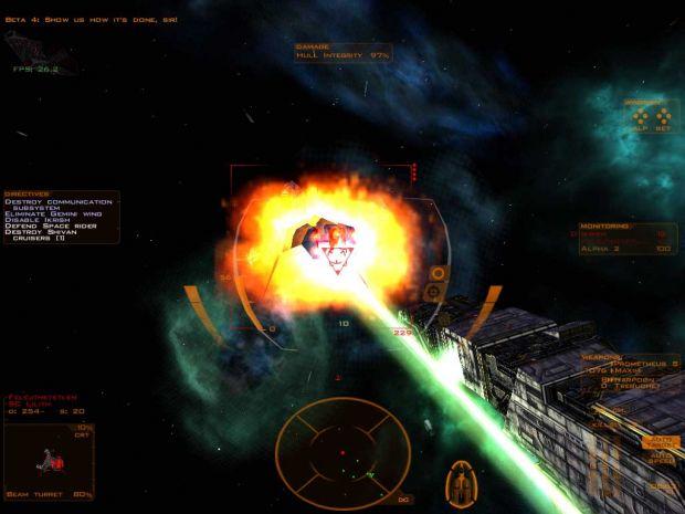 The death of a Shivan cruiser
