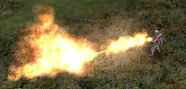 Nod Flame Thrower Infantry