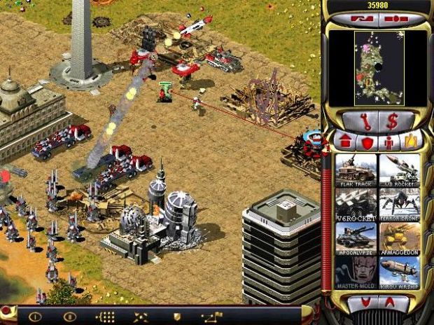 how to play red alert 2
