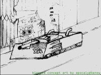 Concpet art- tank