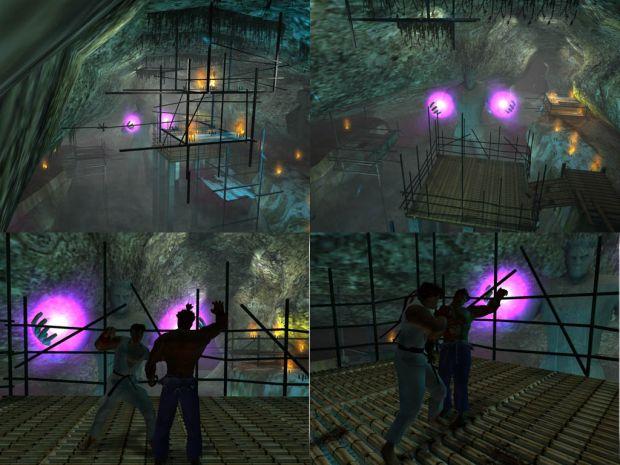Ryu Vs Akuma Set 1 Image Streetfighter Mod For Max Payne 2