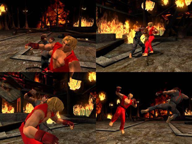 Evil Ryu vs Ken