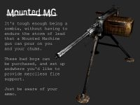 Mounted MG