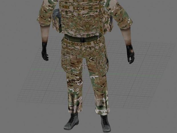Project Krieg, Frieden und Zombies