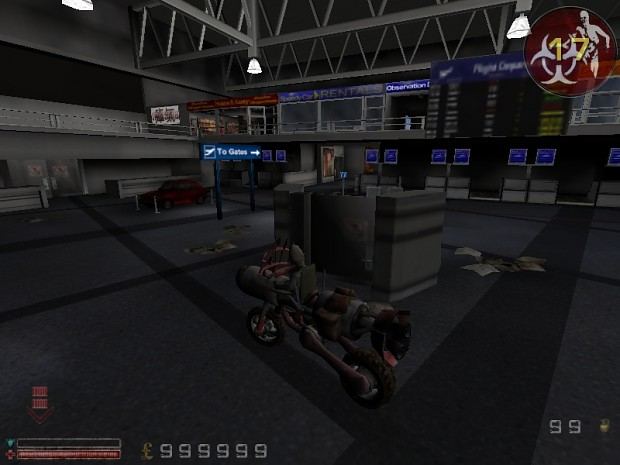 Killing Floor Mod/Clone Bandits Rocket Bike