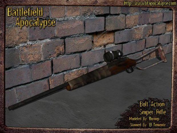 Bolt Action Sniper Rifle