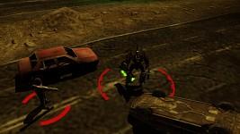 Cyborg Commando - Glowing Eyes