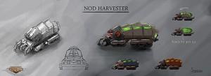 Nod Tiberium Harvester