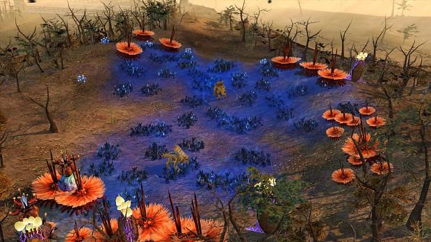 Blue Tiberium Flora