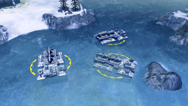Amphibious Carrier Loadouts