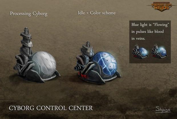 Nod Cyborg Control Centre