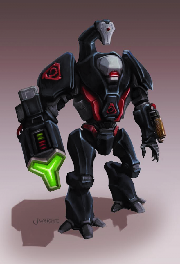 Nod Cyborg Commando Concept