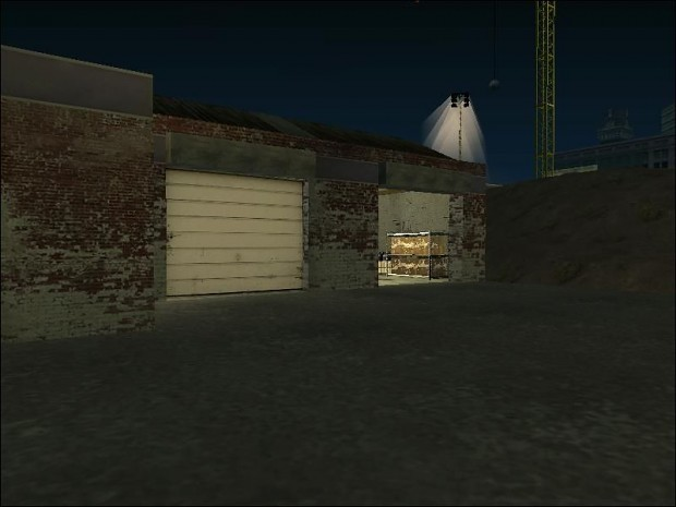 CJ's Garage Interior