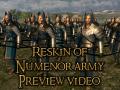 [Video] Preview of Númenor army reskin