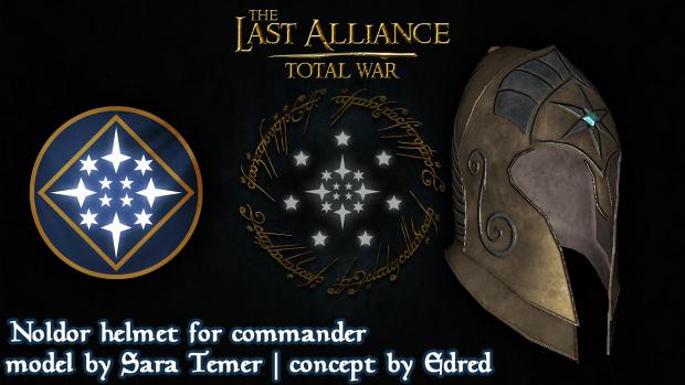 Noldor helmet for commander