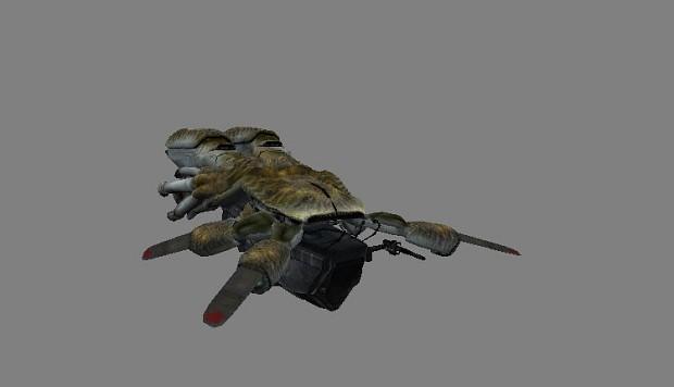 osprey - combine ship