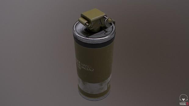 Boreal Alyph Grenade Render