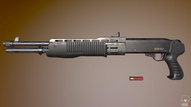 Boreal Alyph Shotgun Render