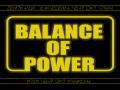 A Balance of power