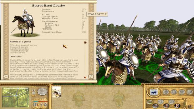 Carthaginian Sacred Band Cavalry
