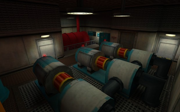 Coolant Pump 1 Maintenance Area