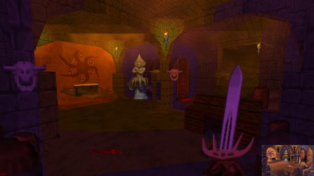 Evil monastery basement