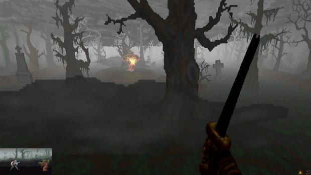 Swamp Chernovy Wizard battle