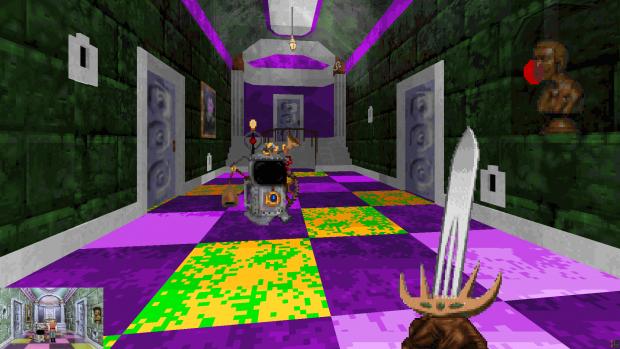 Dr Cranium's crazy hallway