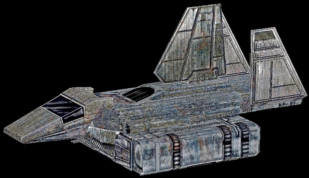 Sentinel Shuttle replacement for Rebel Transport