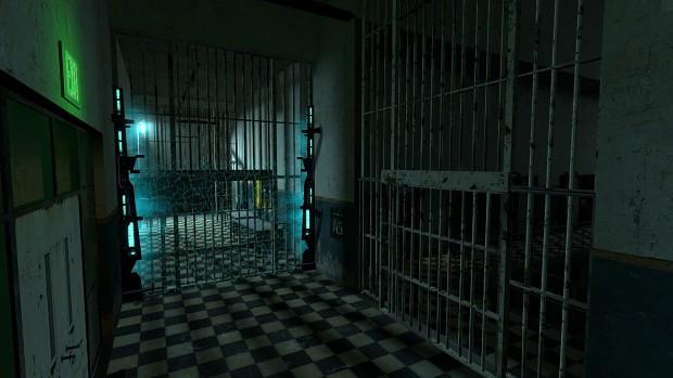 Main Cell block Gates