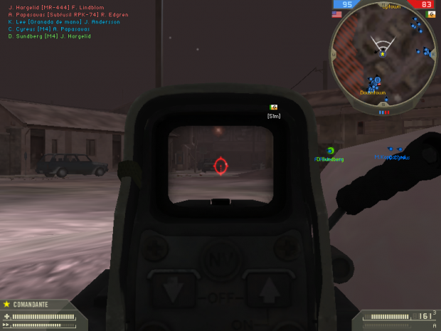 BF4 M249 With Holo and Suppressor