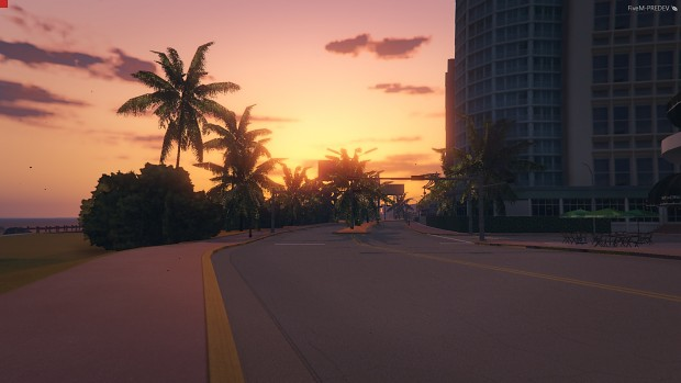 gta vice city hd roads