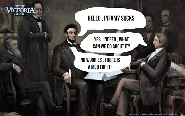 People discussing Infamy