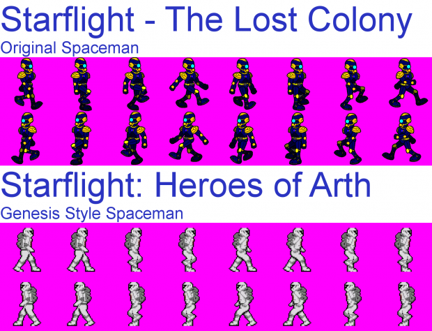 Starflight Spaceman WIP