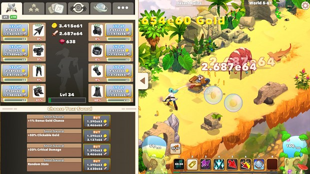 Image 4 - Mixed Worlds mod for Clicker Heroes 2 - Mod DB