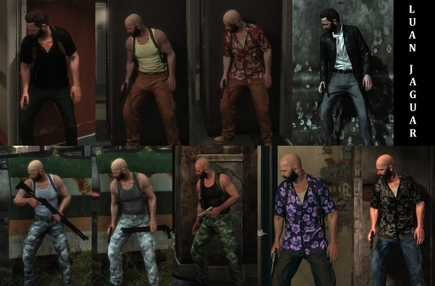 Images Max Payne 3 Clothes Pack By Luanjaguar93 Mod For Max