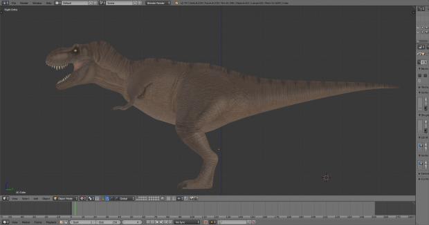 Jurassic Park T.rex skin