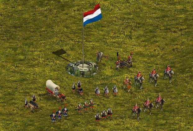 17th century uniform for Dutch troops