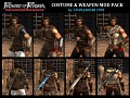 Prince of Persia: Forgotten Sands - COSTUMES & WEAPONS Mod V2.0 by LUANJAGUAR93