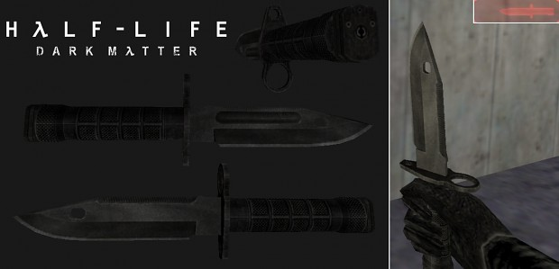 New weapon - M9 Bayonet