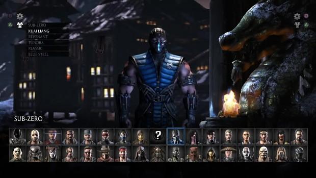 Mortal Kombat XL - KLASSIC COSTUME SKIN MODS KOLLE