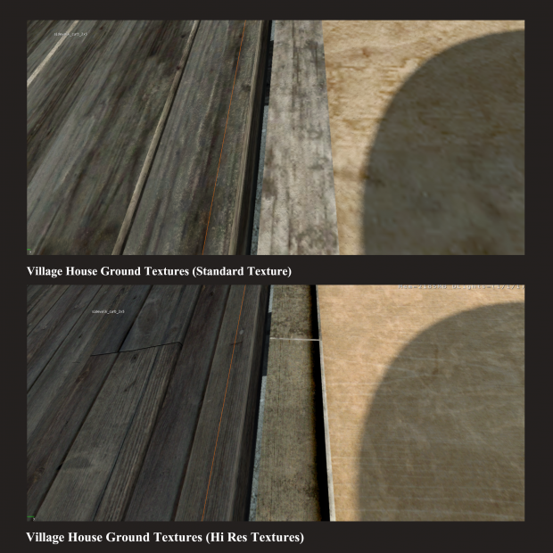 Village House Ground Textures