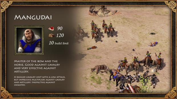 Mongols minor civ unit