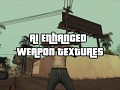 AI Enhanced Weapon Textures for San Andreas