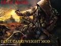 Devil Carryweight Mod 1.4+