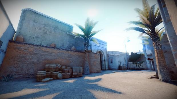 Dahshur, Dust-styled map