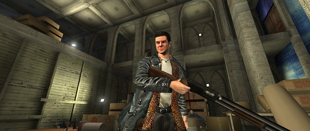 Mp1 Shotgun With New Hd Textures Image Max Payne 2 The Fall Of