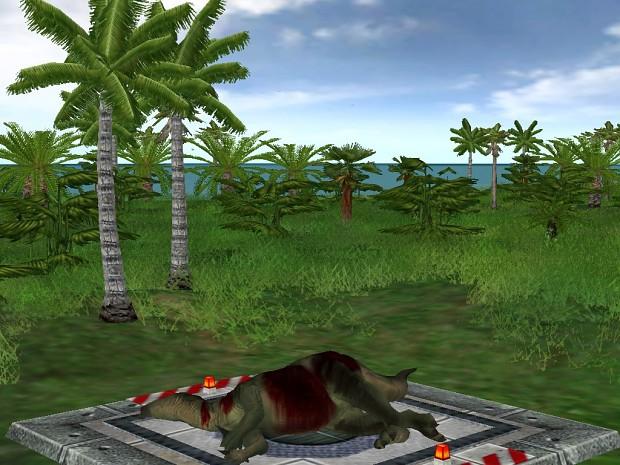 Iguanodon Carcass