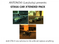 GTASA Vehicle Xtended pack